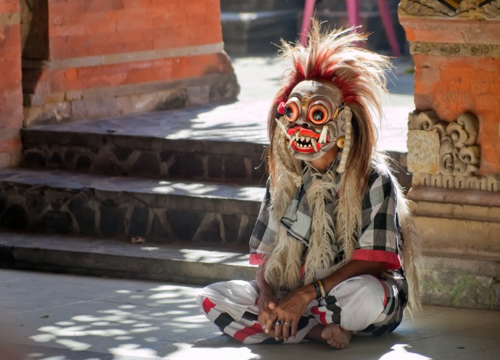 Rangda from Barong dance