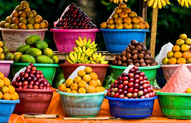 Fruit Stand in Bali